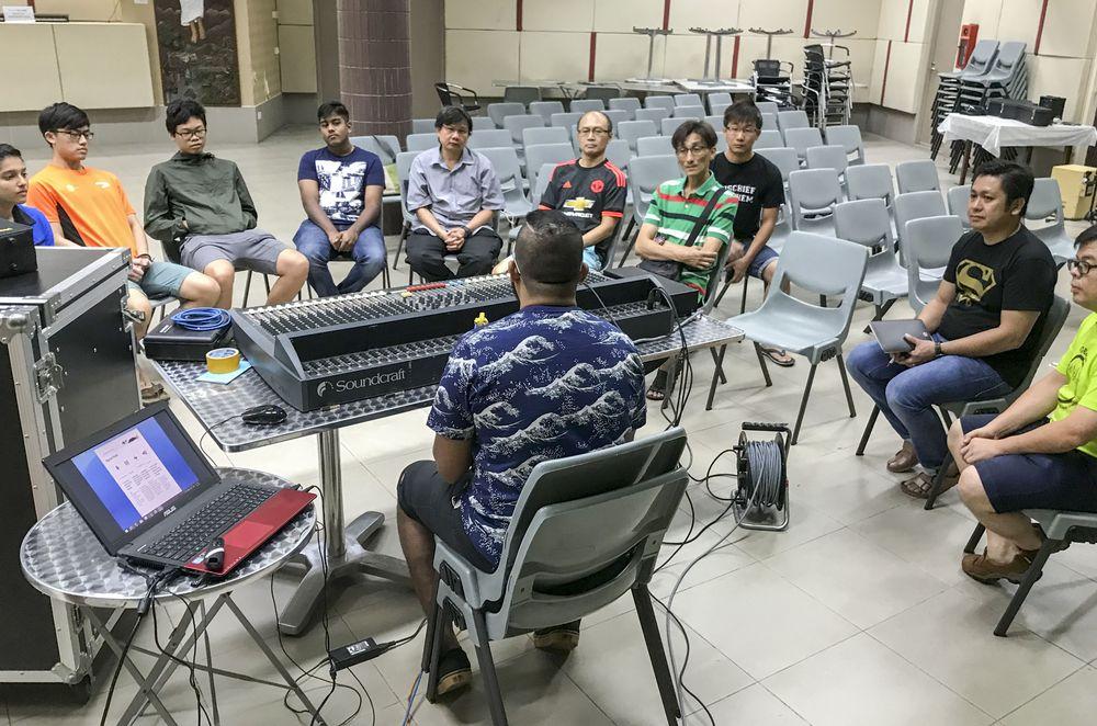 Church of St Anthony AV Team Training