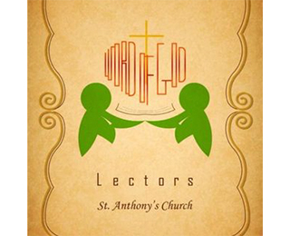 Church of St Anthony Lectors Logo