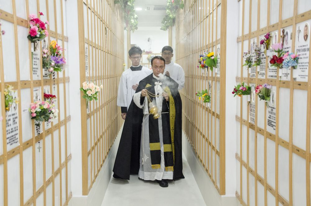 Church of St Anthony Columbarium Blessing
